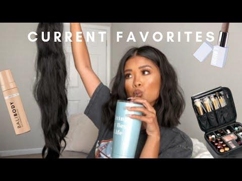 CURRENT FAVORITES: SKINCARE, MAKEUP, HAIR thumbnail