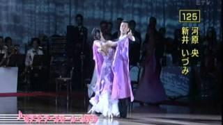 社交ダンス スローフォックストロット 2011日本インター規定フィガー thumbnail
