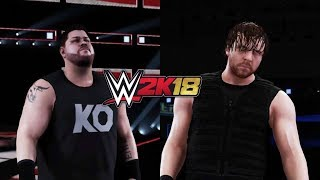 WWE2K18: Gameplay - Kevin Owens vs Dean Ambrose - WWE SURVIVOR SERIES!!