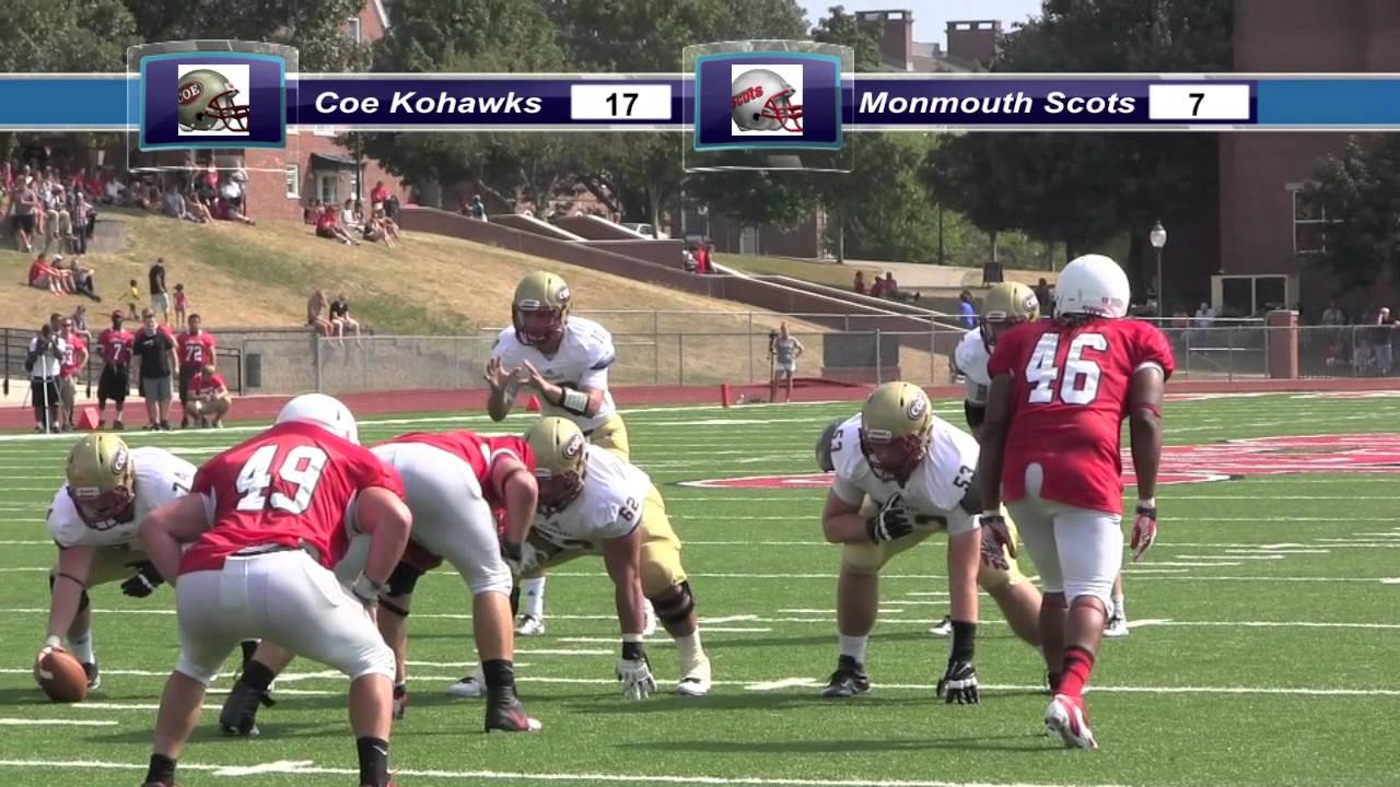 2013 Coe College Football at Monmouth College - YouTube