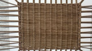 Простое плетение дна (донышка) любой формы на шаблоне.