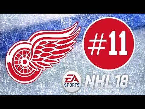 NHL 18 ~ Detroit Red Wings Franchise Mode Commentary ~ #11 (No Words)