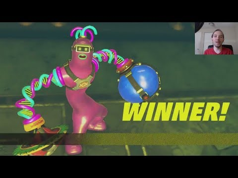ARMS Global Test Punch Stream (Part 1) Punching and Blorbing w/ Chump