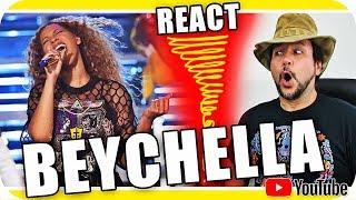 BEYONCÉ COACHELLA BEYCHELLA - Marcio Guerra Reagindo React Reação Pop Music Dance R&B