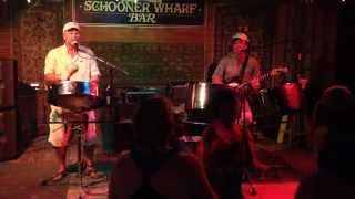 Island Time Band at Schooner Wharf Bar in Key West - Say Hey