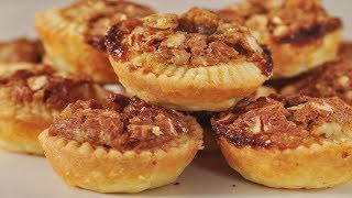 Pecan Tassies Recipe Demonstration - Joyofbaking.com