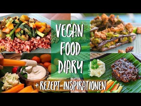 WHAT I EAT - VEGAN FOOD DIARY mit Rezept-Inspirationen ♥ Bali Vlog