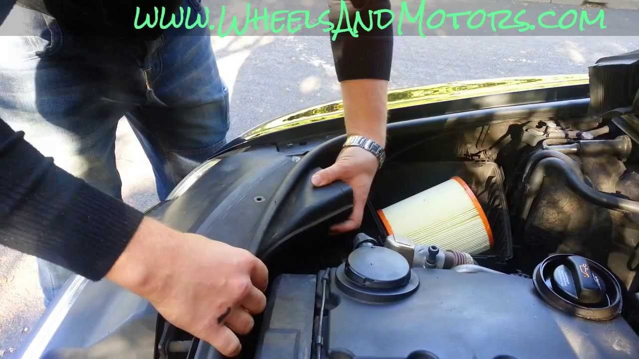 How To Change Engine Air Filter On Audi A6 C6 4f 2 0 Tdi