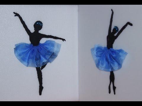 Панно Балерина своими руками.