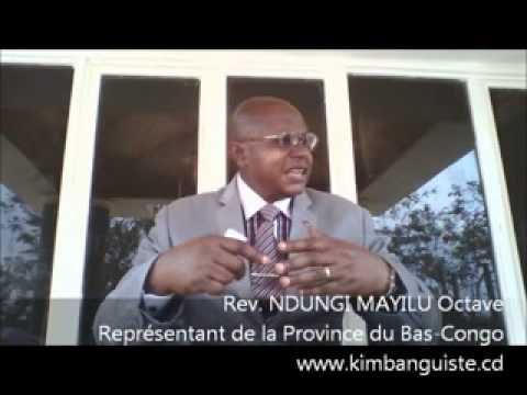 Breve Présentation de l'EJCSK dans la province de Bas-congo par le Rév. NDUNGI