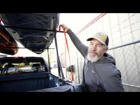How To: Tying down two kayaks on your roof