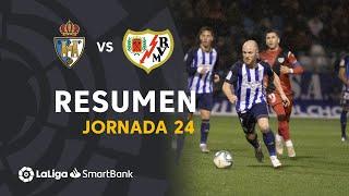 Resumen de SD Ponferradina vs Rayo Vallecano (1-1)