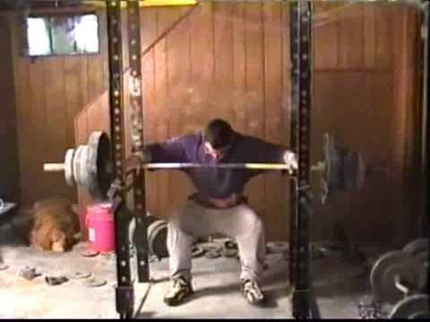 Brooks Kubik Bottom Position Squat 200kg 440lb Drug Free