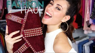 ☆ WINTER & PARTY FASHION HAUL || ➜ She In, Boohoo, Asos & Miss Guided