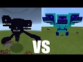 What Happens When You Spawn the Hydra Dragon Boss & Wither Storm in Minecraft PE?