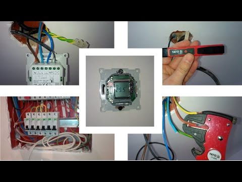 Монтаж и подключение терморегулятора Devireg 535