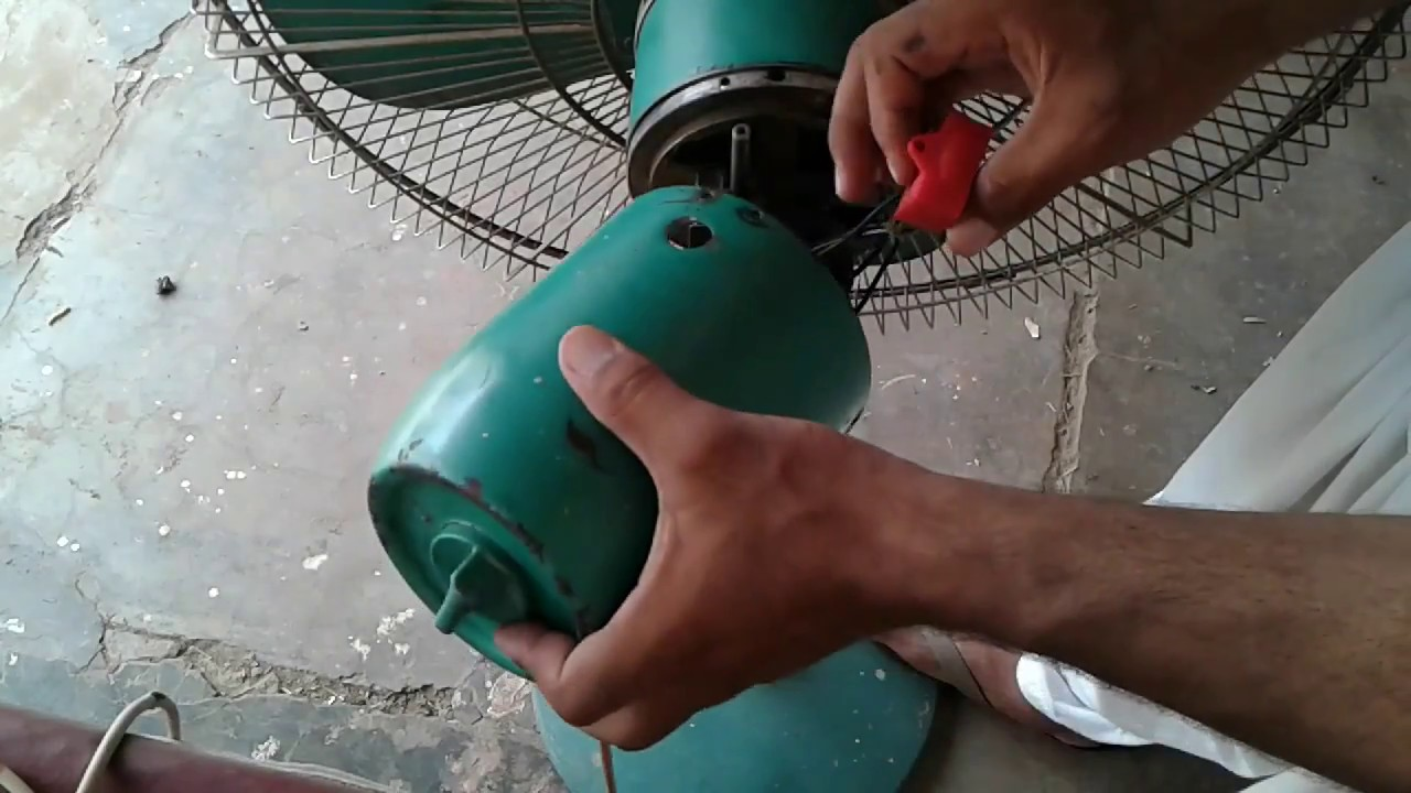How to repair your table fan change a capacitor youtube how to repair your table fan change a capacitor greentooth Images