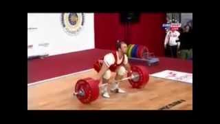 Чемпионат мира по тяжелой атлетике 2013!Мужчины 94 кг! Рывок