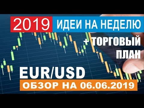Прогноз по евро доллар  EUR/USD на 06.06.2019 - Первая цель закрыта!