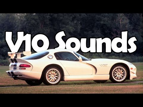 8 Great Sounding V10 Engines