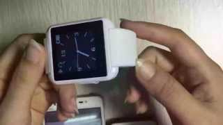 review of u8 bluetooth wrist smart watch phone mate for ios android iphone samsung htc ivory