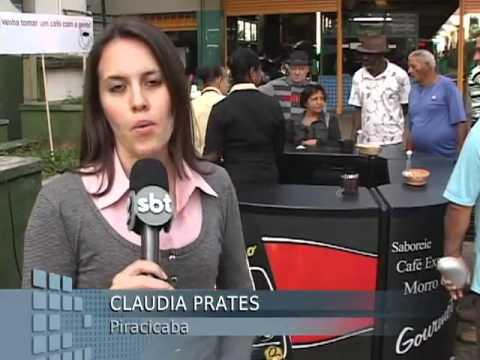 VTV Campinas - Café Morro Grande distribui café em praça