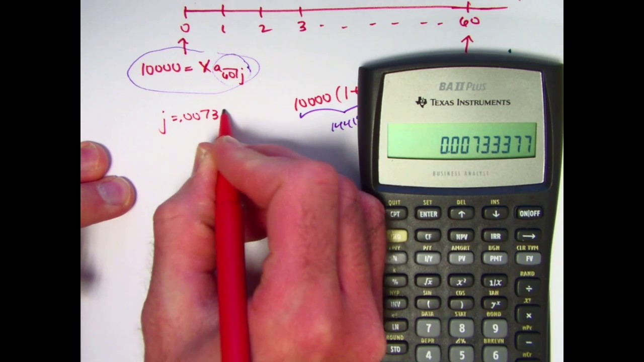 Actuarial Exam 2/FM Prep: Use Financial Fcns in TI BA II Plus to ...