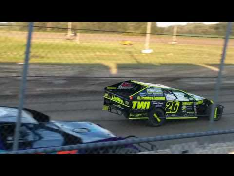 Aj Ward Racing #20w)7/7/17@ I-96 speedway..heat race