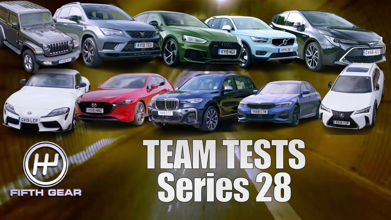 Download ALL the latest Fifth Gear Team Tests - Series 28   Fifth Gear