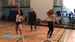 BTS: Riverdale- The Cast Rehearses with Choreographer Paul Becker