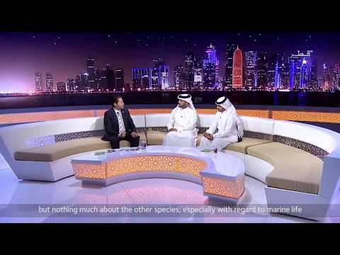 Qatar TV Interview with Jack Saba for Qatar e-Nature Initiative
