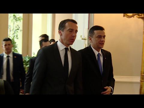 09.05.2017 Intrevedere cu Christian Kern, Cancelarul Austriei