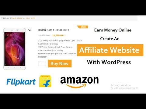 How To Create An Affiliate Website With WordPress - Flipkart Affiliate Website - 동영상