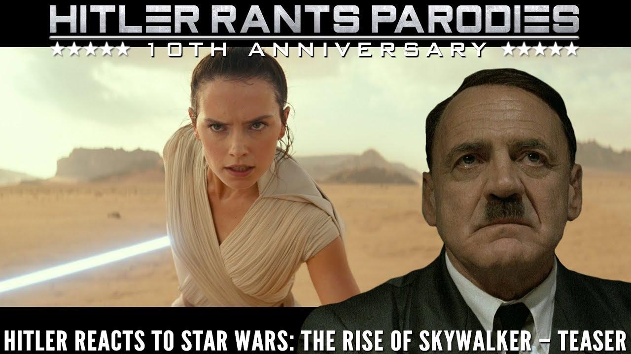 Hitler reacts to Star Wars: The Rise of Skywalker – Teaser