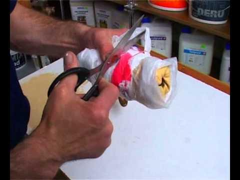 Как покрасить пластиковый предмет