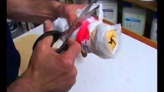 видео Как сделать декоративный валик для покраски стен