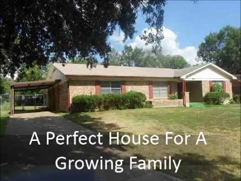 Family Friendly House For Sale in Paris Texas