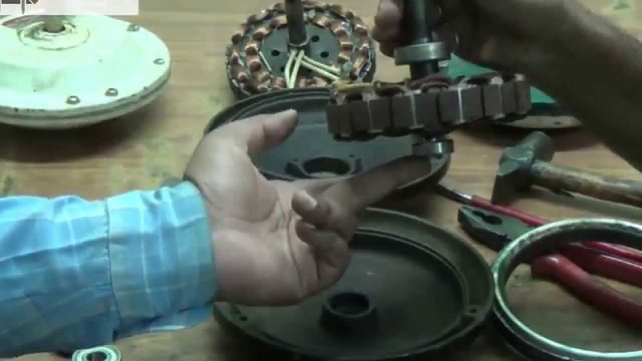 how to repair a ceiling fan motor