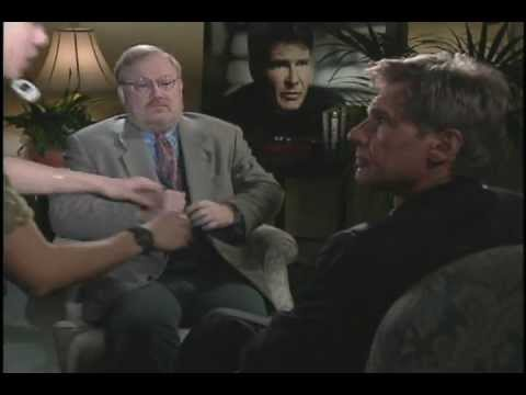 """Harrison Ford talks with film critic Joe Leydon about """"The Devil's Own"""""""
