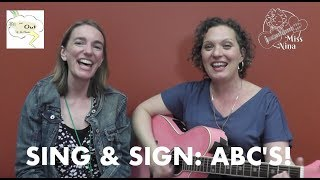Children's song: ABCs - Sing & Sign The Alphabet Song with Margot Bevington