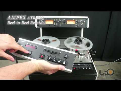 AMPEX ATR-800 Reel-to-Reel Audio Tape Recorder