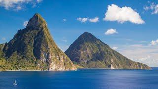 セントルシア島旅行の参考に、セントルシア島の観光地・見どころを7分に...