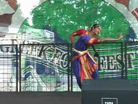 Bharata Natyam Indian dance at Greek FoodFest 2005 - Little Rock, AR