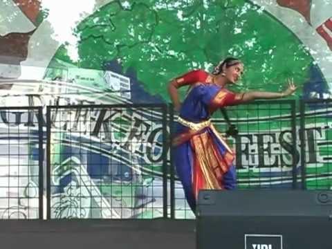 Bharata Natyam Indian dance at Greek FoodFest 2005 - Little Rock, AR