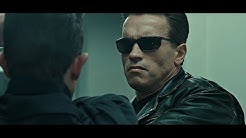 Terminator 2: T800 vs T1000 (First Meet)