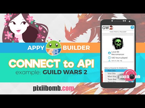 AppyBuilder Tutorial: [PART 1] Connect to an API (using Guild Wars 2)