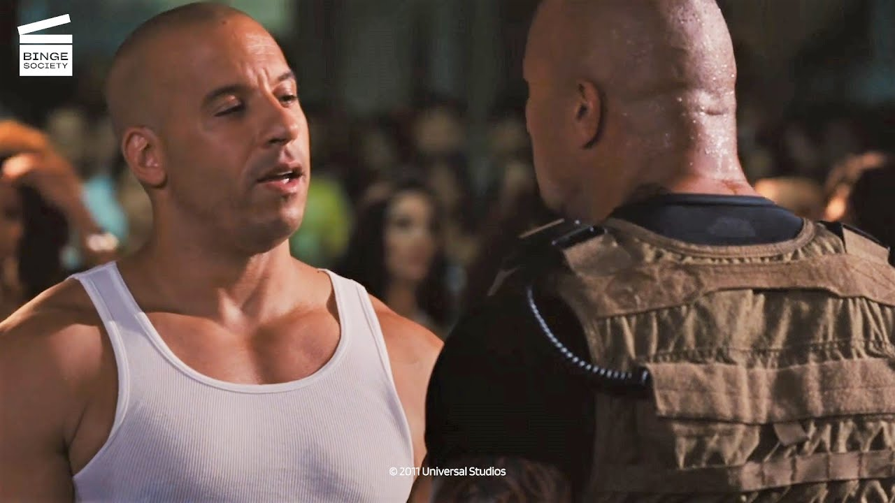 Download Fast Five: Hobbs wants to arrest Dom and Brian HD CLIP