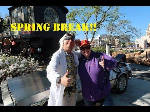 Universal Studios Orlando Spring Break Crowds and Fun! 3/14/18