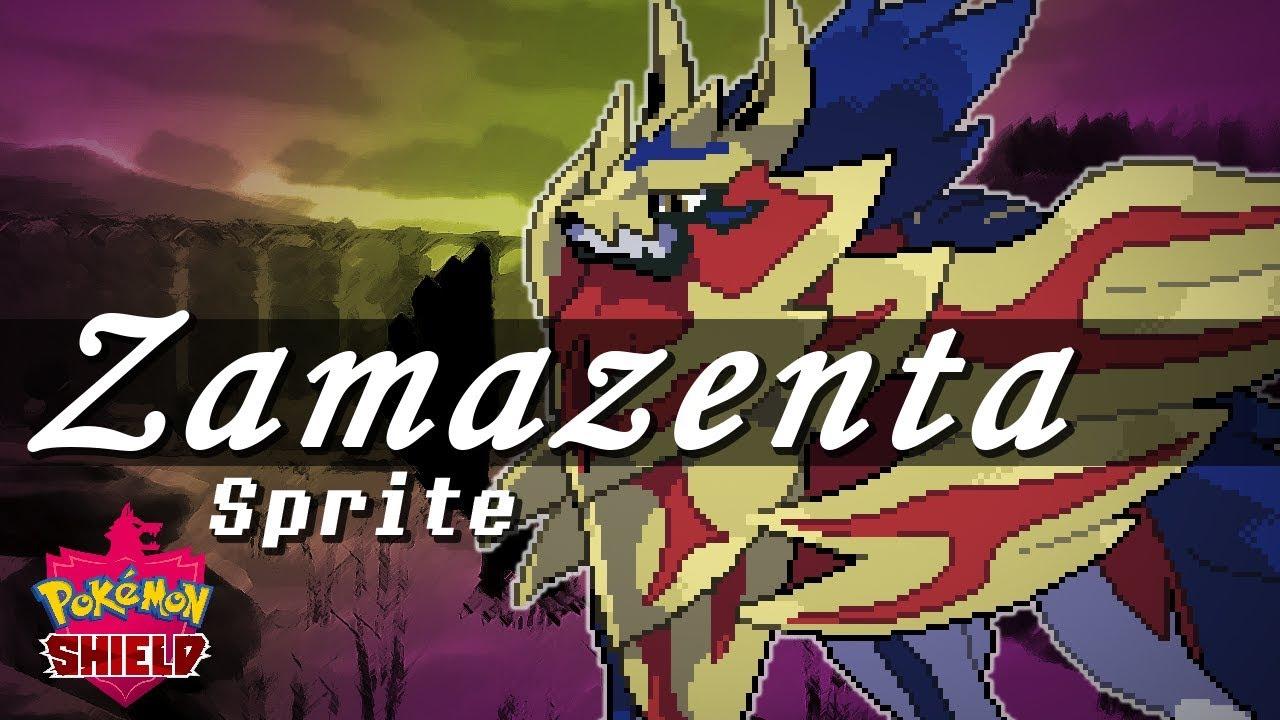 Pokémon Sword and Shield: ZAMAZENTA (Sprite Speedpaint)