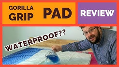 Bedwetting Mattress Pad by Gorilla Grip - Incontinence Product Waterproof Test